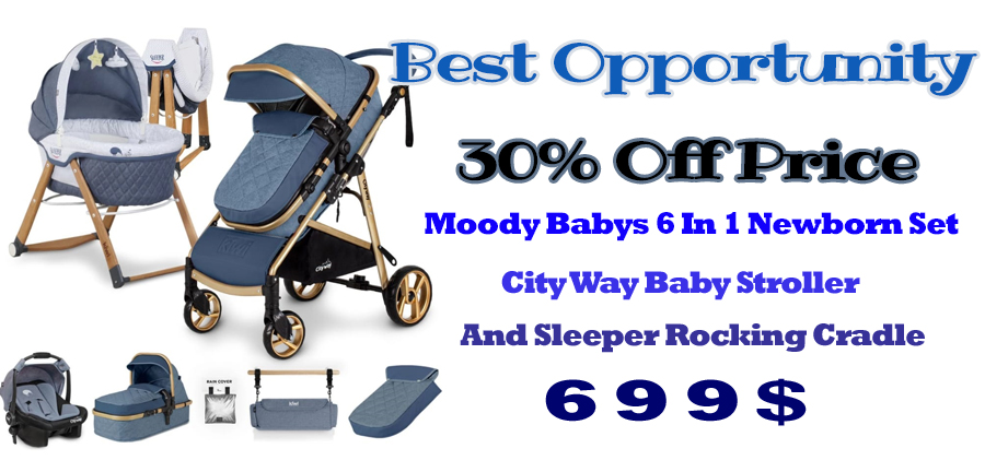 Moody Baby Stroller and Sleeper